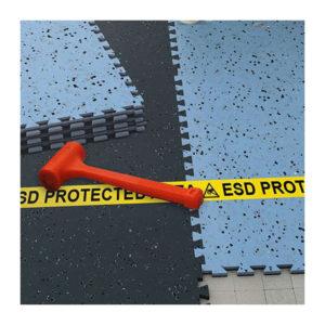 Piastrella conduttiva da pavimento formato puzzle
