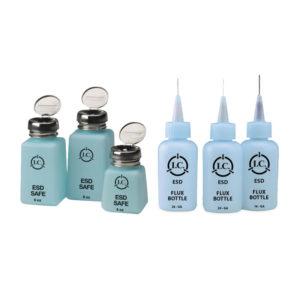 Bottiglie dispenser ESD per liquidi vari