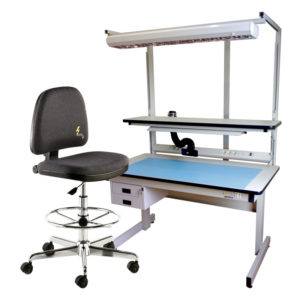 ESD work stations and ESD chairs