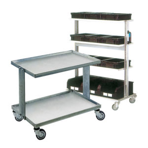 ESD trolleys and shelves