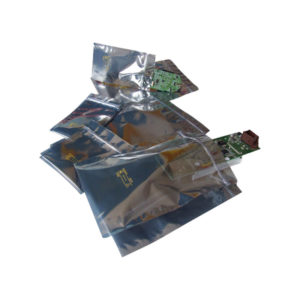 Metal in shielding bags
