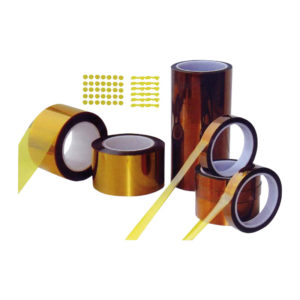 Poliammide adhesive tapes and labels