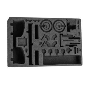 Black conductive polyethylene foam