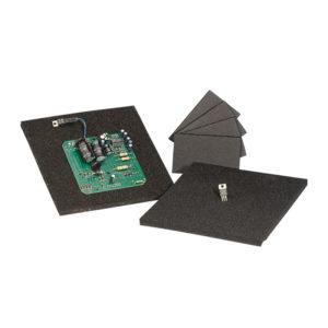 Black conductive polyurethane foam