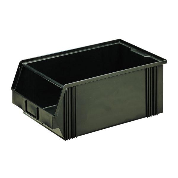 Conductive and dissipative storage bins