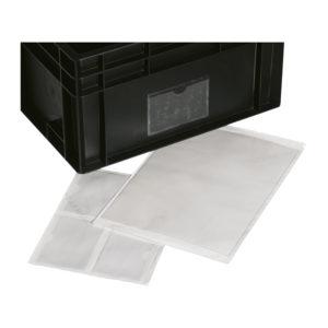 Portaetichette ESD per contenitori