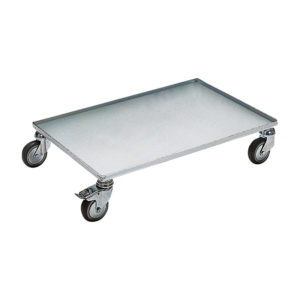 ESD single shelf trolley